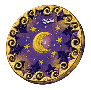 ilustrační foto: Adventní kalendář Milka (Kraft Foods)