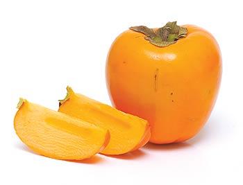 """Plod má oranžovou barvu a je tvrdý na omak. Na slupce by měla být nálepka """"Persimon Bouquet"""", která je zárukou kvality."""