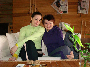 Autorka článku Lucie Pragrová (vpravo)