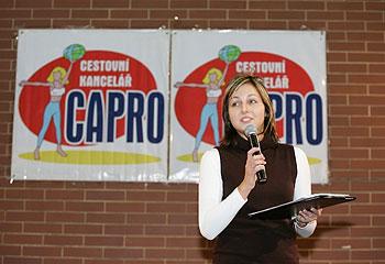 Při moderovnání akce Capro Team Show IV.