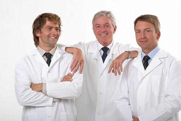 MUDr. Libor Kment, Doc. MUDr. Jan Měšťák, CSc., MUDr. Karel Urban