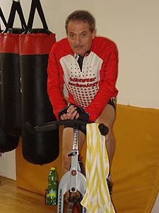 Martin Severa sportuje