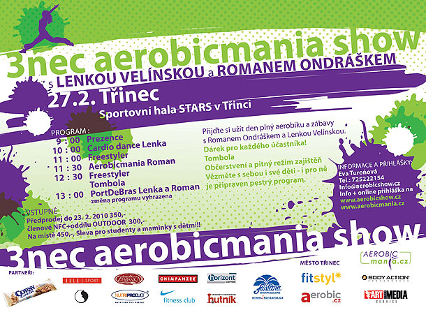 3NEC Aerobicmania show 2010