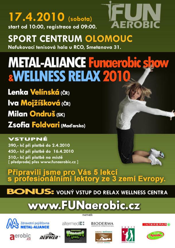 Funaerobic show v Olomouci