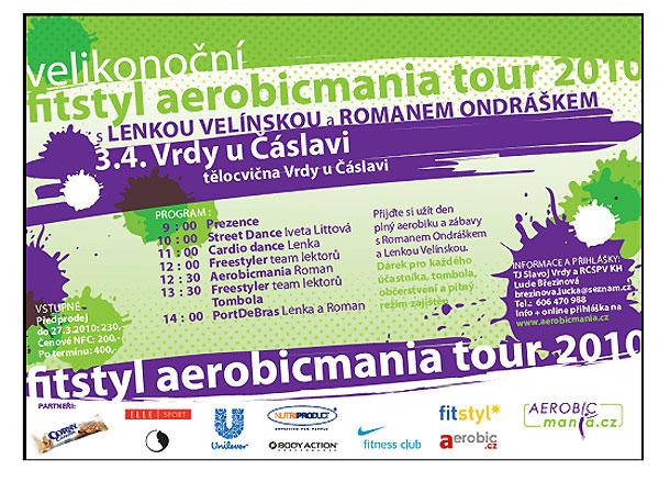 Fitstyl aerobicmania tour 2010