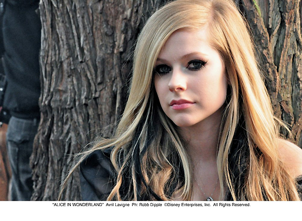 Alice in Wonderland, Avril Lavigne, EMI Czech Republic