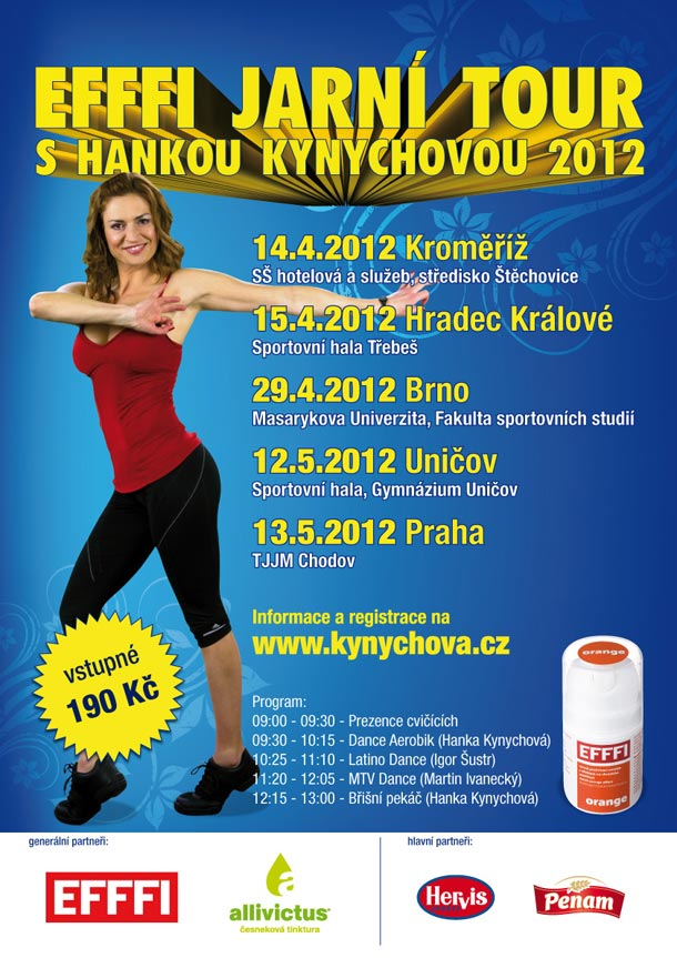 EFFFI tour s Hankou Kynychovou