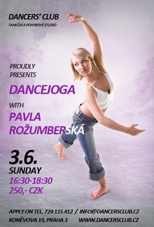 Pavla Rožumberská: Dancejóga je netradiční spojení jógy a tance