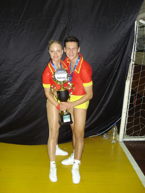 Veronika Šindelářová a Pavel Sirotek, několikanásobní mistři Evropy a světa organizace FISAF, zvítězili v Brazílii