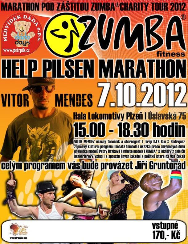 ZUMBA CHARITY TOUR 2012 - ZUMBA HELP PILSEN MARATHON