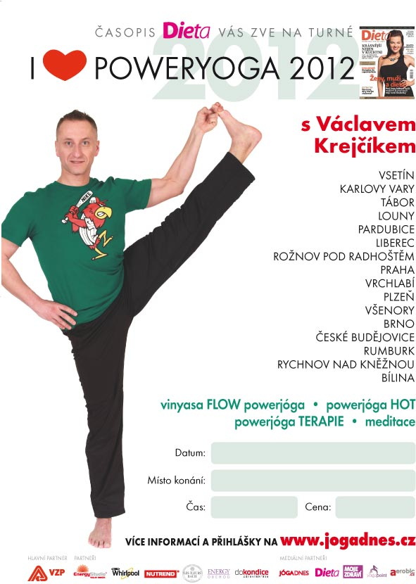 I love poweryoga 2012 startuje!