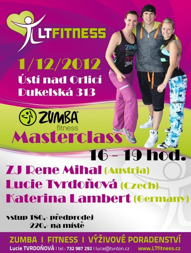 Zumba Master class v Ústí nad Orlicí