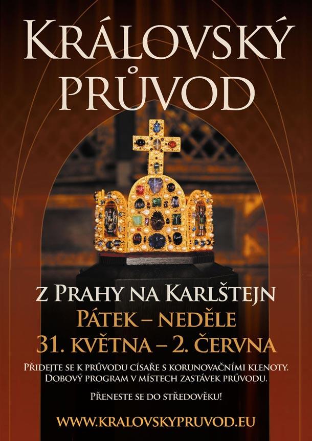 Královský průvod z Prahy na Karlštejn 2013