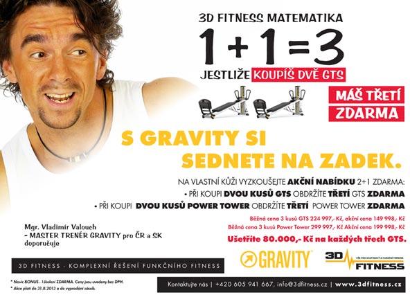 Vláďa Valouch pro 3dfitness: GRAVITY on Total Gym – Úspěch profesionálů