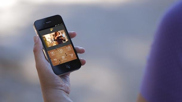wCelý svět Tchibo v mobilním telefonu
