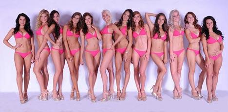 Soutěž: Zvolte Miss Aerobik Media 2013