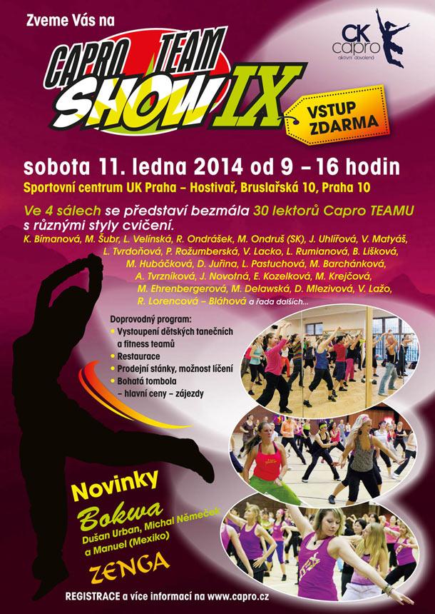 Capro team show IX. ZDARMA