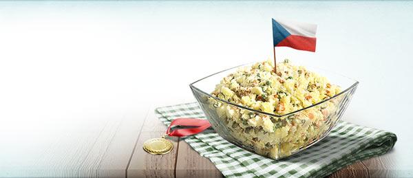 Tradiční mistrovství ČR v přípravě bramborového salátu - Hellmann´s cup 2013