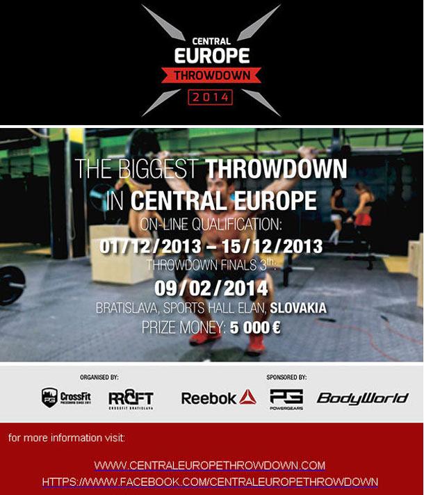 CrossFit závody na Slovensku