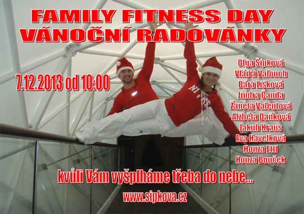 Vánoční radovánky ve Family fitness Olgy Šípkové