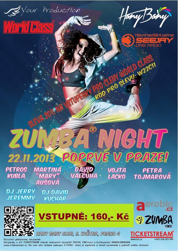 Zumba® Night Party poprvé v České republice!