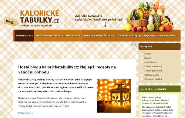Hosté blogu kaloricketabulky.cz: Nejlepší recepty na vánoční pohodu