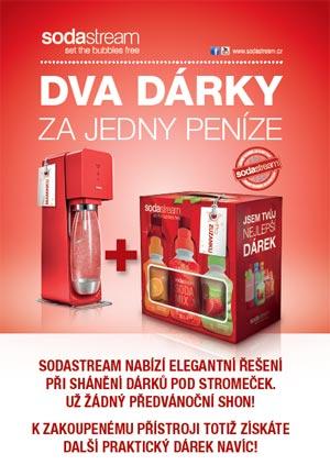 SodaStream: Velký dárek pro vás a vaši rodinu…
