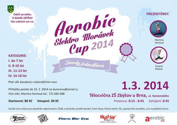 Aerobic Elektro Morávek cup: Závody jednotlivců do osmnácti let