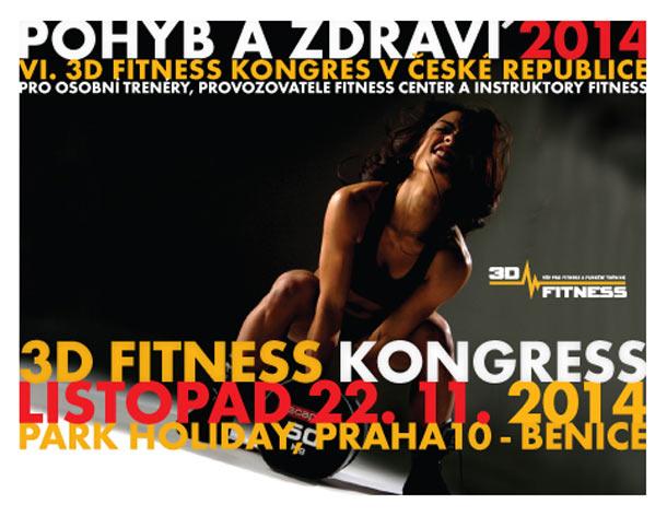 Pohyb a zdraví Benice 2014: 3D fitness kongres
