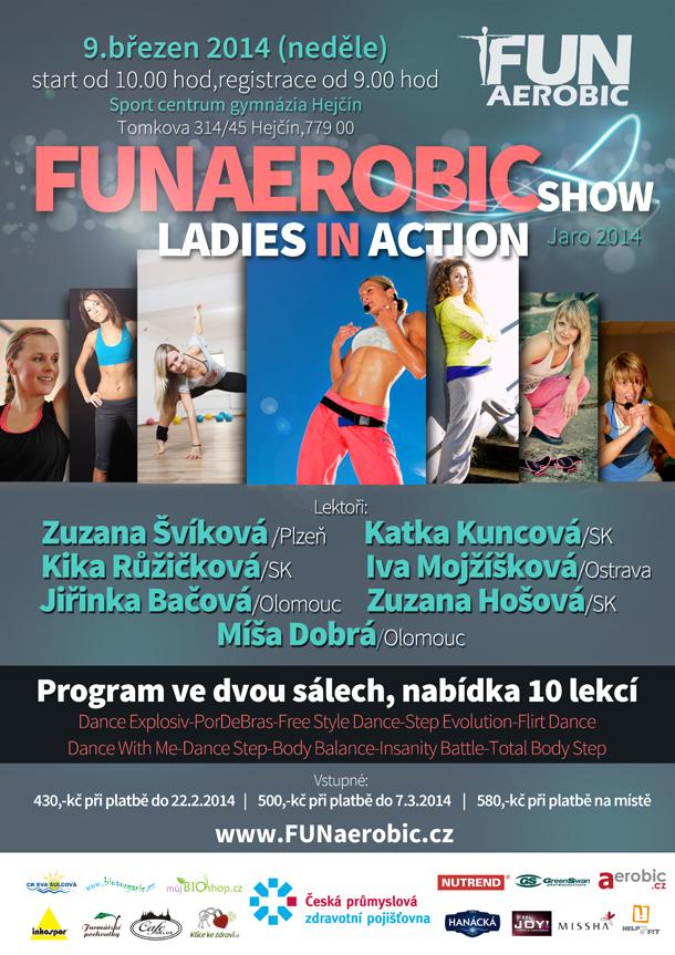 Funaerobic show  jaro 2014: Ladies in action