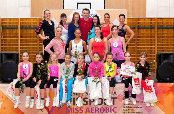 Česko-Slovenská Tip sport Miss Aerobic odstartovala…