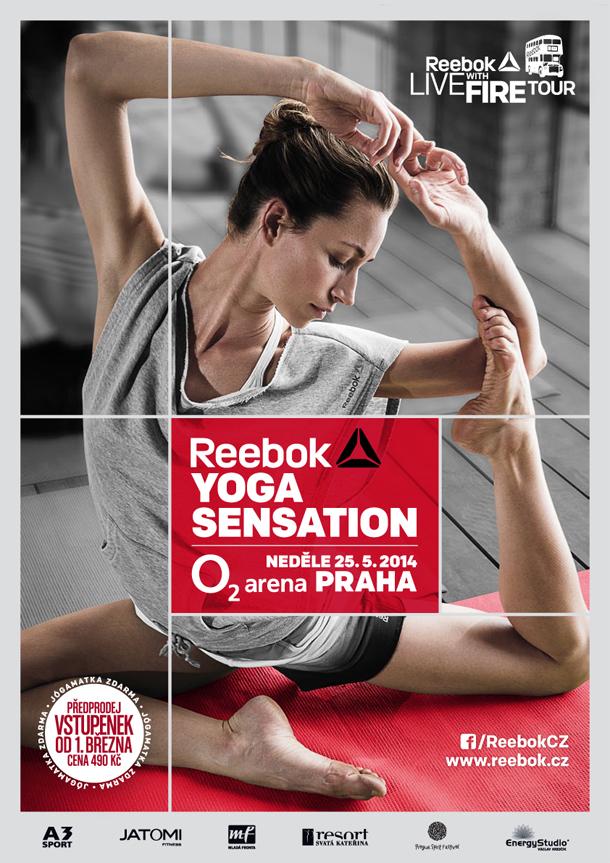 Reebok Yoga Sensation: Zažijte svátek jógy v Praze