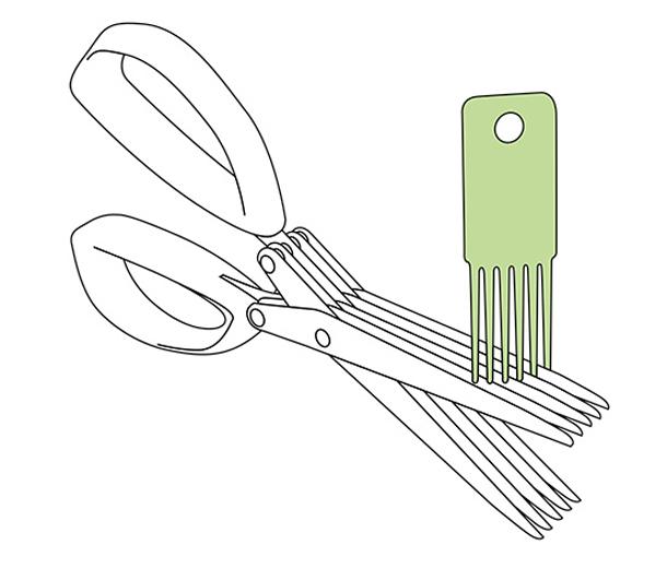Nůžky na bylinky Tchibo