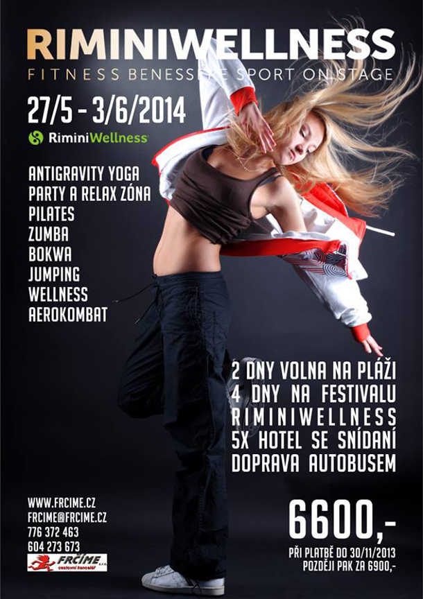 Frčíme na Rimini wellness s CK Frčíme