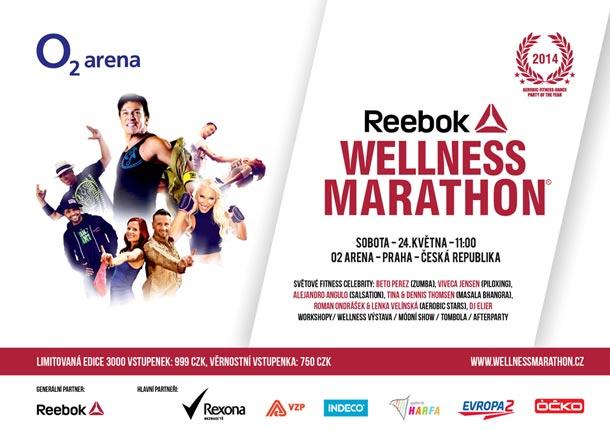 Michael Zima, pořadatel Reebok WELLNESS MARATHON 2014, Vás zve na největší aerobic – fitness – dance párty v Evropě