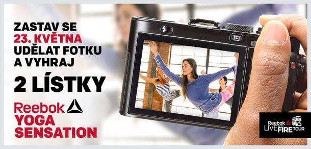 Soutěž o 2 lístky na  Reebok Yoga Sensation!