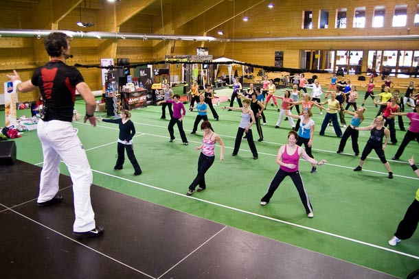 3D fitness Kongres Pohyb a zdraví 2014 opět v Benicích, největší fitness kongres ve střední Evropě