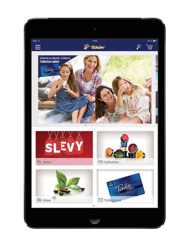 Bezkonkurenční nabídka tabletů iPad mini Wi-Fi za 7999 Kč v obchodech Tchibo a nová aplikace Tchibo pro tablety