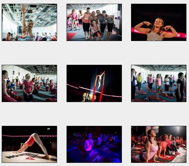 Fotogalerie: Reebok Yoga Sensation 2014