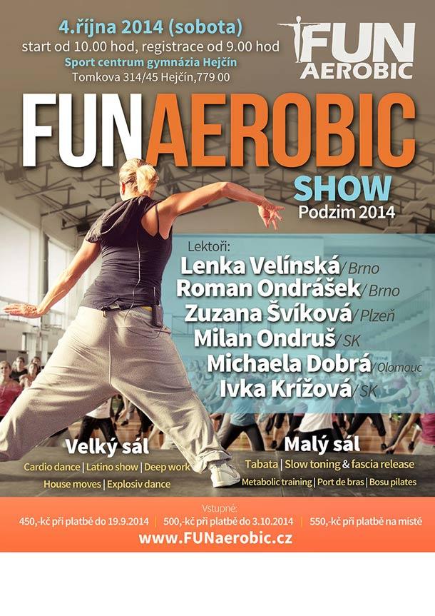 Funaerobic show.