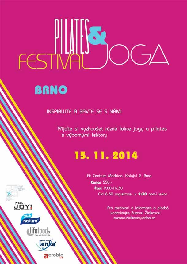Pilates a joga festival v Brně