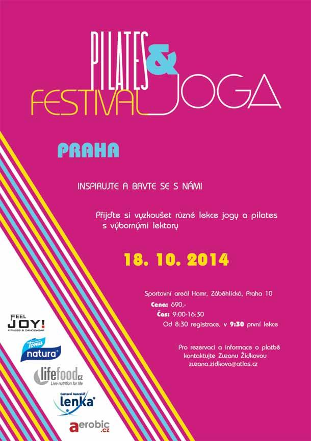 Pilates a Joga Festival Praha