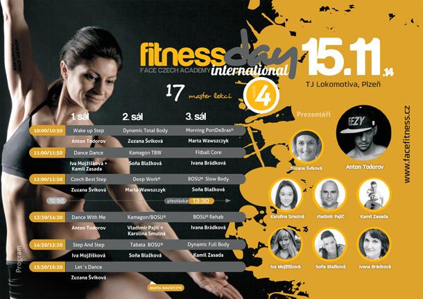 Mezinárodní Fitness Den Plzeň 2014