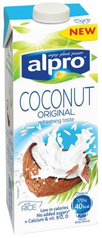 Kokosový nápoj Alpro navodí chuť Vánoc i exotiky