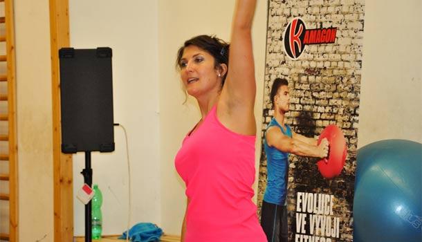 Marcela Janischová : Mezinárodní fitness day Plzeň 2014