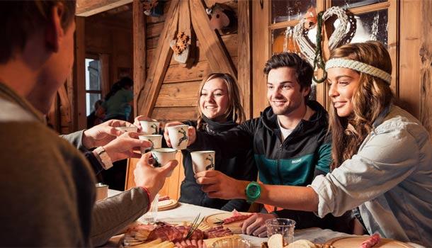 Zimní dovolená v údolí Stubai