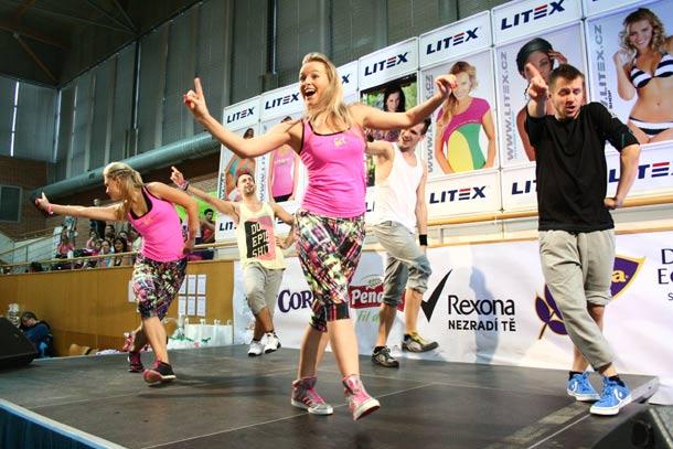 Karolina Jarošová: Litex aerobic show 2014