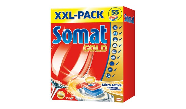 Snadné mytí nádobí i během vánočních svátků díky tabletám Somat