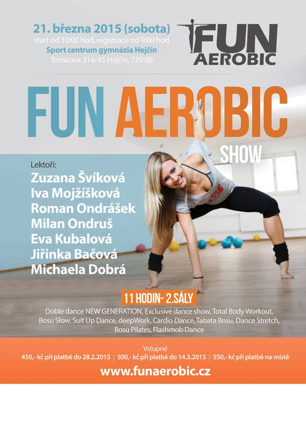 Program Funaerobic show jaro 2015