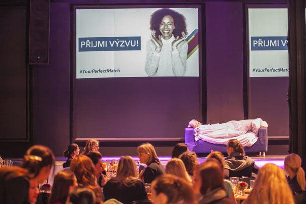 Ženy přijaly netradiční výzvu v rámci akce #YourPerfectMatchPrague a nechaly se inspirovat ke změnám ve svém životě